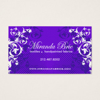 "Stylish Business Card (all purpose) - ""Boulevard"""