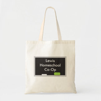 Stylish Chalk board Homeschool Co Op Tote Bag