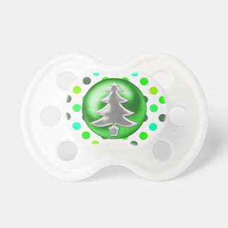 Stylish Christmas Tree Baby Pacifier