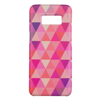 Stylish Colorful Geometric Triangles Pattern Case-Mate Samsung Galaxy S8 Case