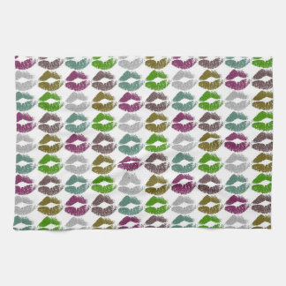 Stylish Colorful Lips #2 Kitchen Towel