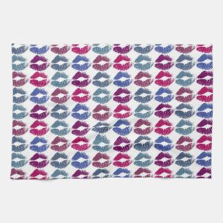 Stylish Colorful Lips #7 Kitchen Towel