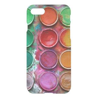 Stylish Colorful Paint Color Box Palette iPhone 8/7 Case