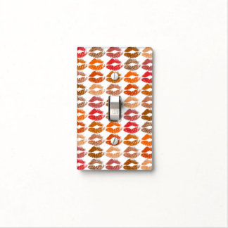 Stylish Colourful Lips #14 Light Switch Cover