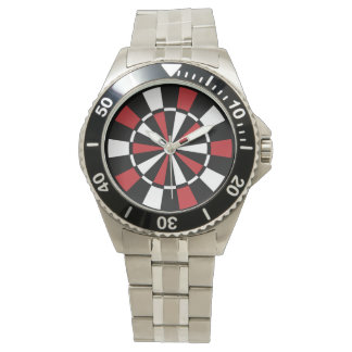 Stylish Dartboard Wrist Watch