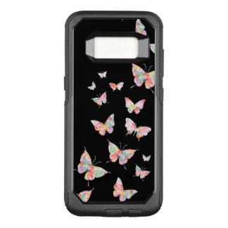 Stylish Designer Butterfly Pattern OtterBox Commuter Samsung Galaxy S8 Case