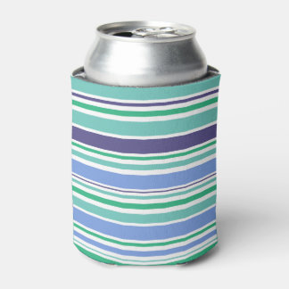 Stylish designers bottle can : with Old stripes Can Cooler