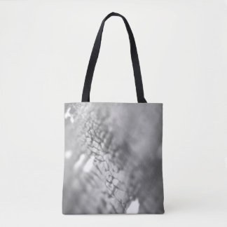 Stylish designers tote bag : grey photography
