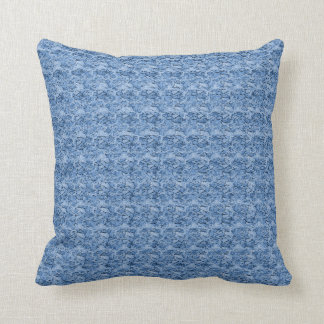 """Stylish Designs"" Breezy Blue* Throw Pillow"