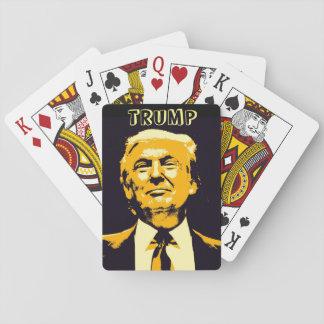 Stylish Donald Trump Playing Cards