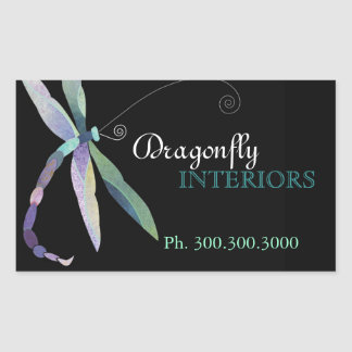Stylish Dragonfly Business Promotional