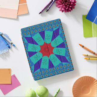 Stylish Egyptian fantastic feminine colors design iPad Cover