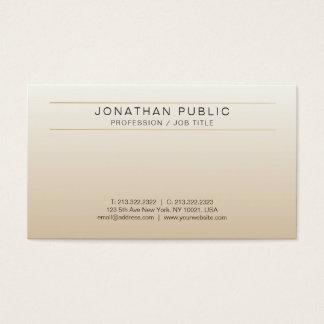 Stylish Elegant Design Modern Professional Luxury Business Card