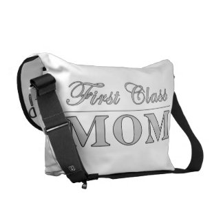 Stylish Elegant Gifts for Moms : First Class Mom Courier Bags