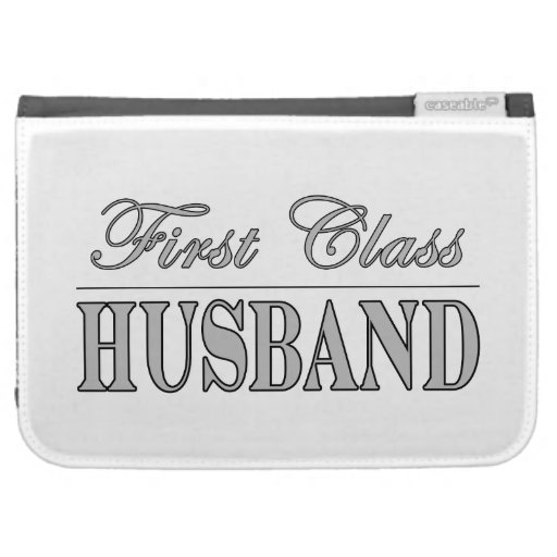 Stylish Elegant Husbands : First Class Husband Kindle 3 Cover
