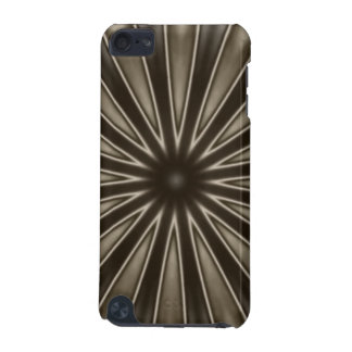 Stylish Elegant Kaleidoscope Design Brown Gray iPod Touch 5G Cover