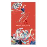 Stylish & Elegant Monogram Business Card