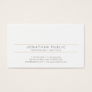 Stylish Elegant Trend Design Modern Professional Business Card