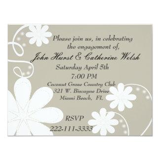 Stylish engagement party Invitation