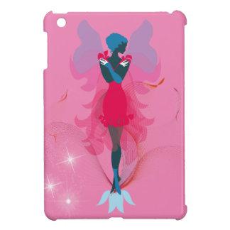 Stylish Fairy feminine silhouette illustration iPad Mini Case