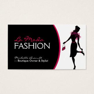 Stylish Fashion Designer Business Card