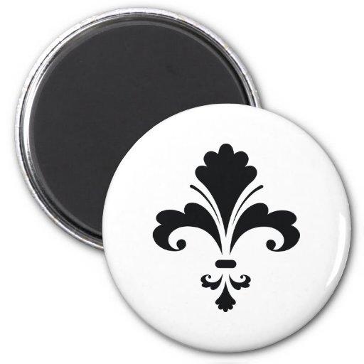 Stylish Fleur De Lis Magnets