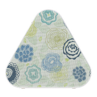 Stylish floral pattern with cute flowers blueooth speaker