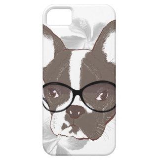 Stylish french bulldog iPhone 5 case