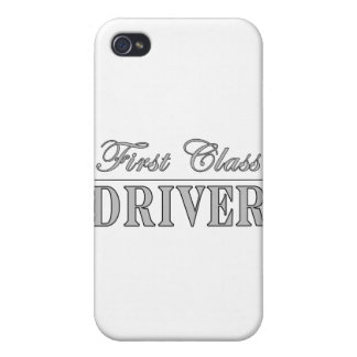 Stylish Fun Drivers : First Class Driver iPhone 4/4S Cover