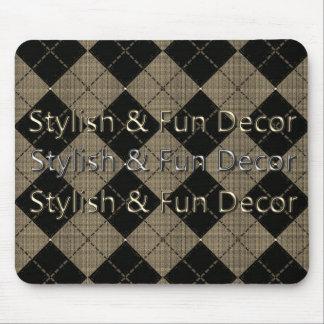Stylish & Fun Product Decor Mouse Pad