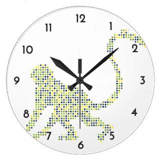 Stylish Funky Monkey Wall Clock