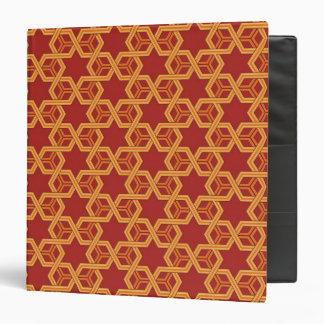 Stylish geometric ornament binders