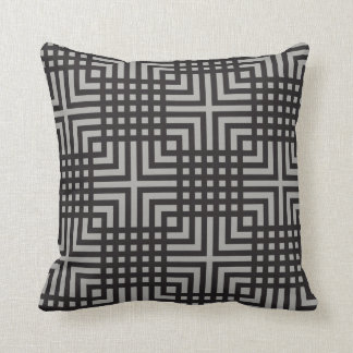 Stylish Geometric Pattern (DIY Background Color) Throw Pillow