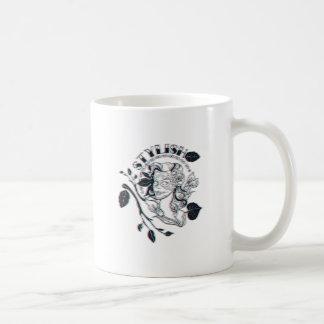 stylish girl cute design coffee mug