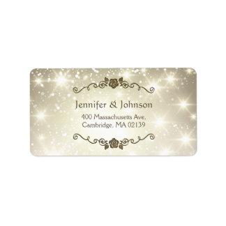 Stylish Glitter Sparkles Wedding / Holiday