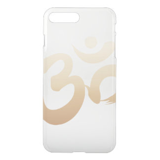 Stylish Gold Om Symbol Yoga iPhone 8 Plus/7 Plus Case