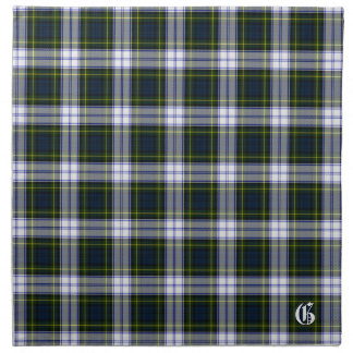 Stylish Gordon Dress Monogram Tartan Plaid Cloth Napkin