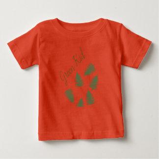 Stylish Green Kid Lucky Fern Baby T-Shirt Top