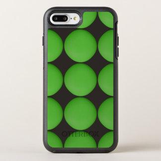 Stylish Green Pattern OtterBox Symmetry iPhone 7 Plus Case