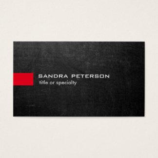 Stylish Grey Chalkboard Modern Unique Business Card