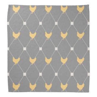 Stylish Harlequin Chicken Pattern Bandana