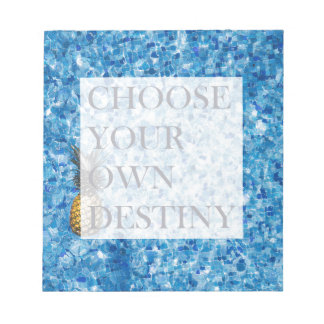 Stylish holiday beautiful quote notepads