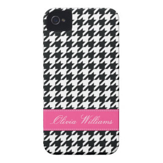 Stylish Houndstooth iPhone 4 Case