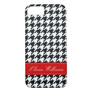 Stylish Houndstooth iPhone 8/7 Case