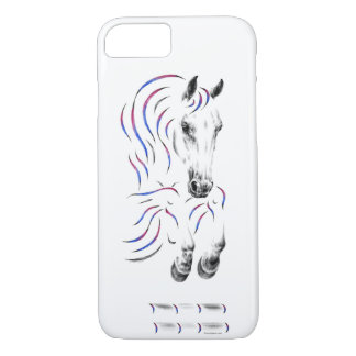 Stylish Jumping Jumper Horse iPhone 8/7 Case