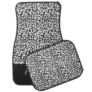 Stylish Leopard Animal Print | Personalize Car Carpet