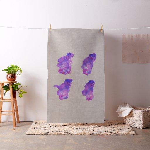 Stylish linen with brushed Art Fabric