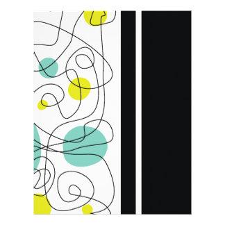 Stylish Lines Custom Letterhead