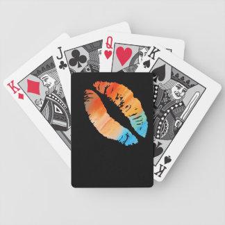Stylish Lips #4 Poker Deck