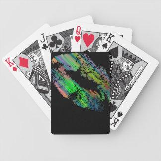 Stylish Lips #7 Poker Deck
